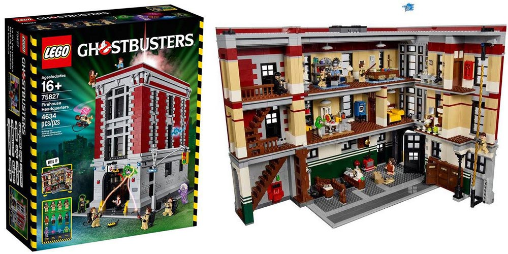 Lego 75827 The Official Pictures Of Ghostbusters Firehouse