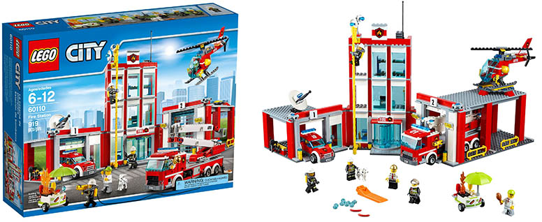 Lego 60110 Fire Station I Brick City