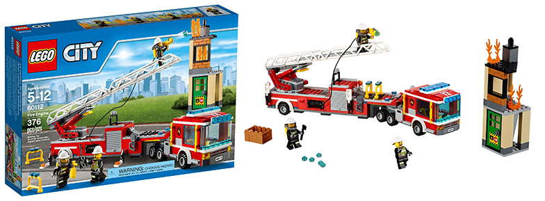 Lego-60112-Fire-Engine-city