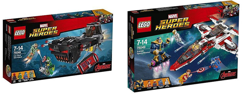 marvel lego sets 2016