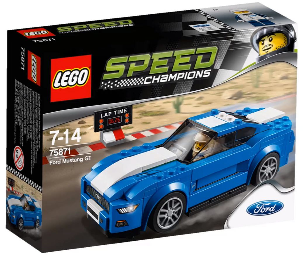 Lego Speed Champions 2016 The Official Set Boxes I