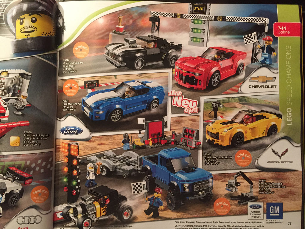 lego speed champions 2016 the first details i brick city. Black Bedroom Furniture Sets. Home Design Ideas