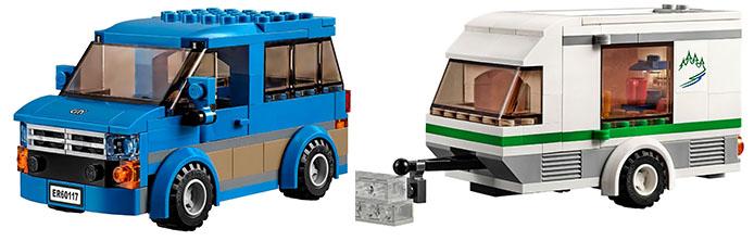 Lego-60117- Van-Caravan-city-1