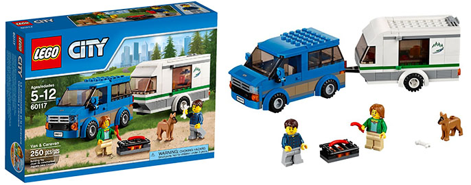 Lego-60117- Van-Caravan-city