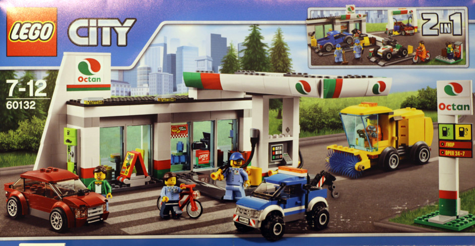 Lego-60132-Gas -Station-city-1