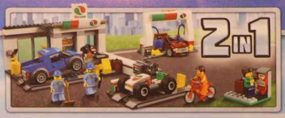 Lego 60132 – Gas Station | i Brick City