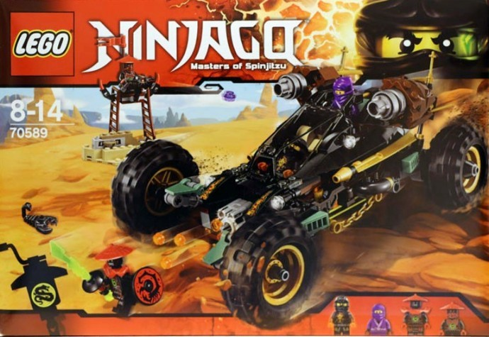 Lego-70589-Cole-Rock-Roader-Ninjago