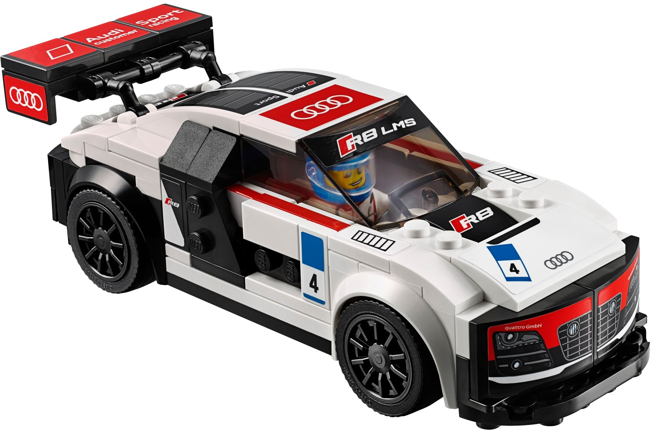 Audi r8 lms ultra lego speed champions 10