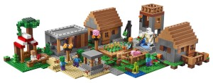 Lego-21128-The-Minecraft-Village -2