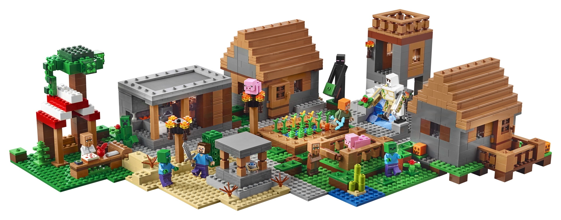 Lego 21128 The Minecraft Village Was Officially Revealed