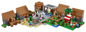 Lego-21128-The-Minecraft-Village -3