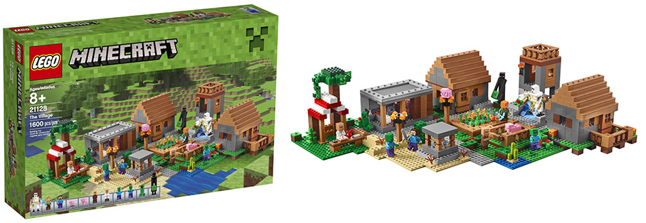 Lego-21128-The-Minecraft-Village-4