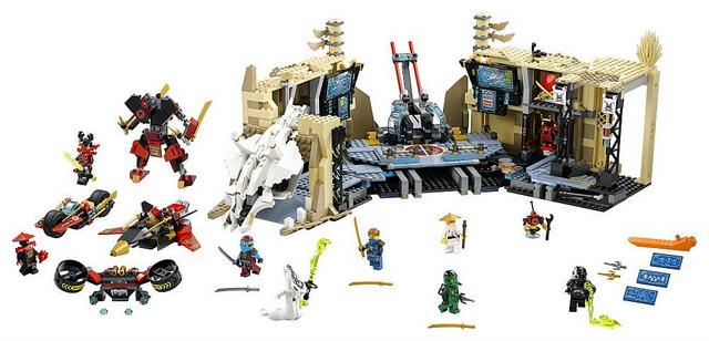 LEGO-Samurai-X-Cave-Chaos-70596-ninjago