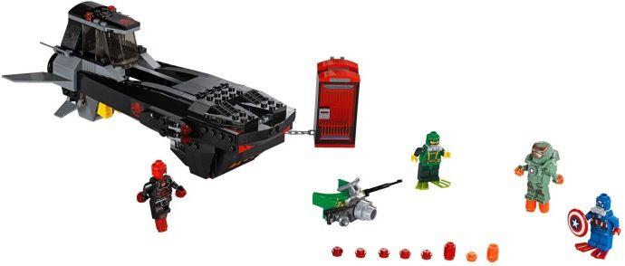 LEGO Super Heroes 76048 Iron Skull Sub Attack LEGO Baukästen & Sets