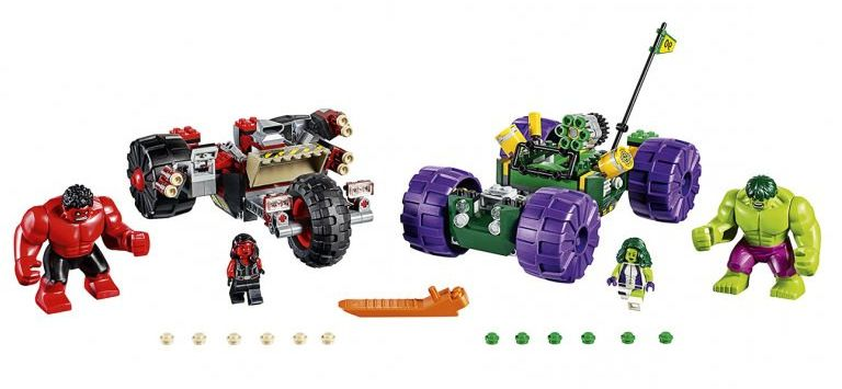 Lego 76078 - Hulk vs Red Hulk