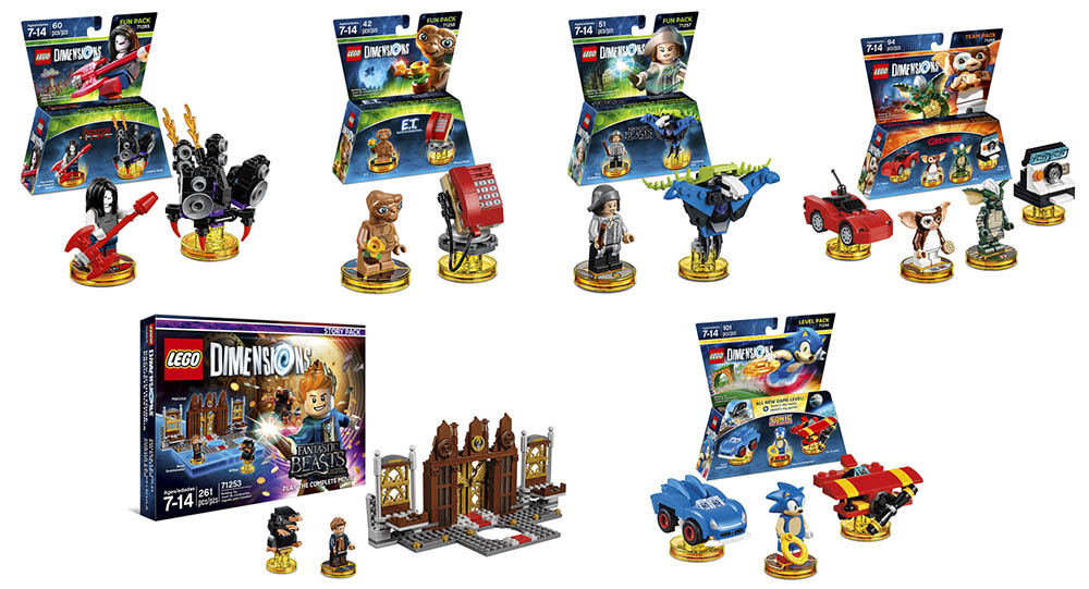LEGO 71257 Dimensions Fun Character Figure Pack