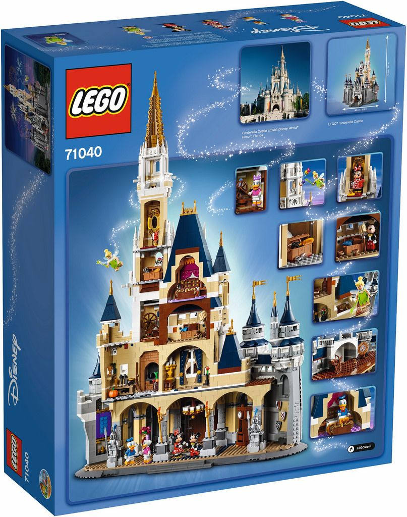 Lego 71040 The Disney Castle Was Officially Revealed I