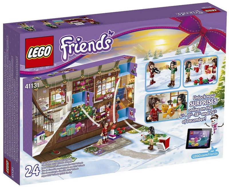 lego 41131 friends advent calendar i brick city. Black Bedroom Furniture Sets. Home Design Ideas