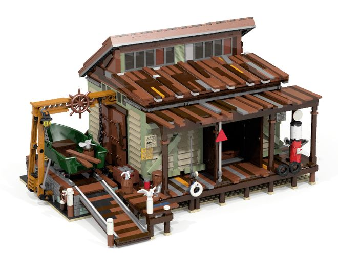 lego-ideas-boat-repair-shop