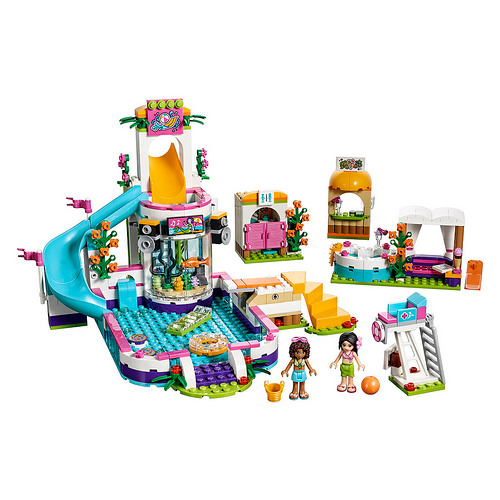 Lego 2017 friends sets the first wave i brick city for Piscina lego friends