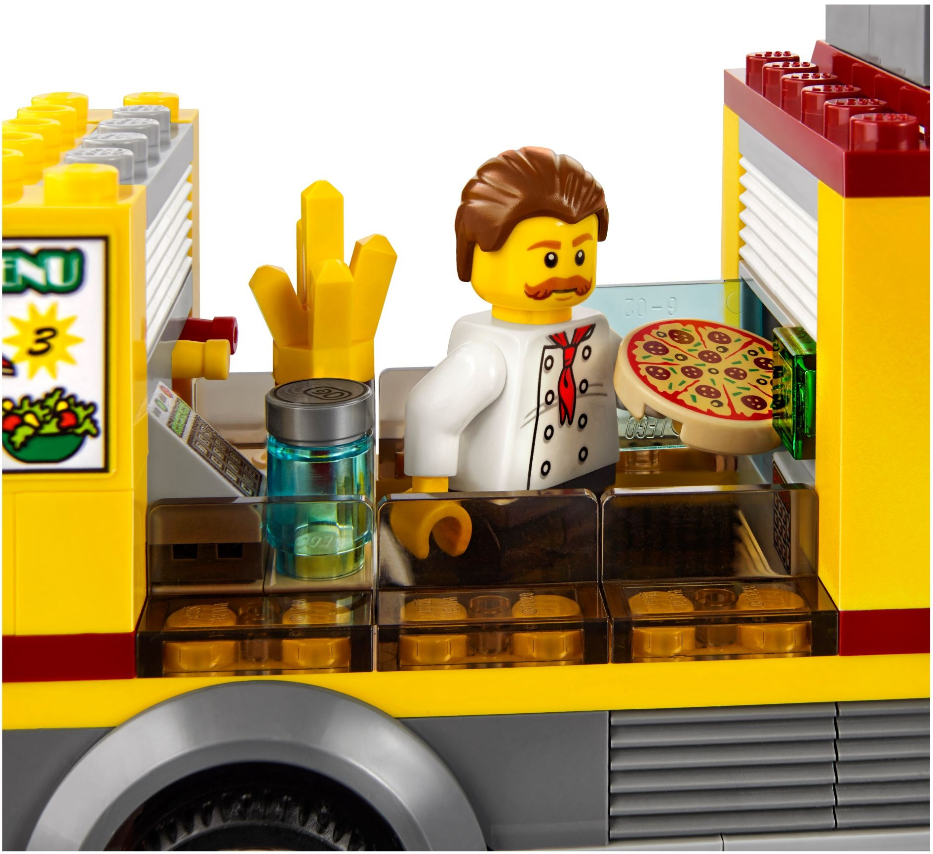 Lego 60150 Pizza Van I Brick City