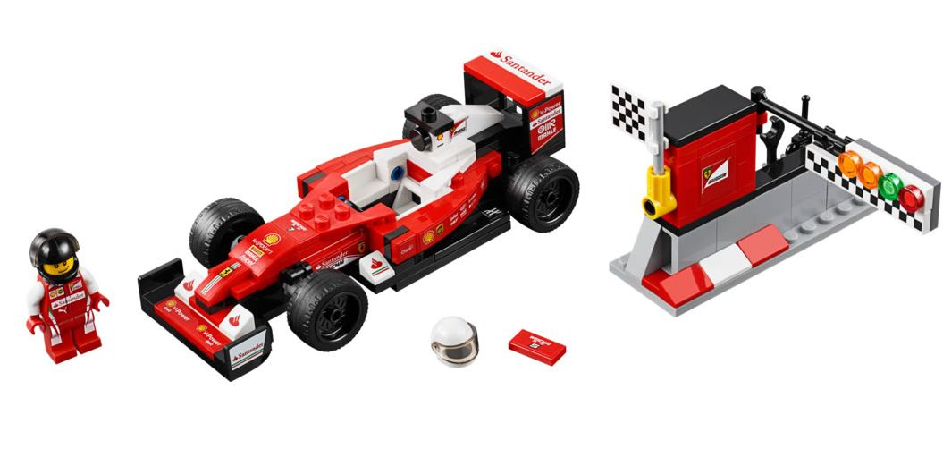 lego 75879 scuderia ferrari sf16 h i brick city. Black Bedroom Furniture Sets. Home Design Ideas