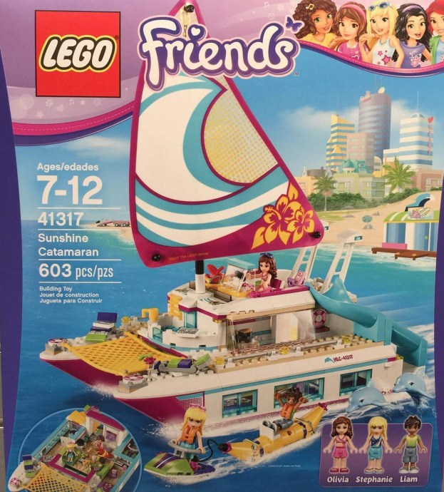 Lego-41317-Sunshine-Catamaran-friends