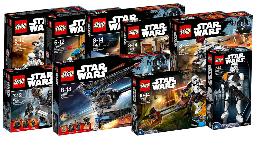 Lego Star Wars – 2017 Winter Official Pictures | i Brick City