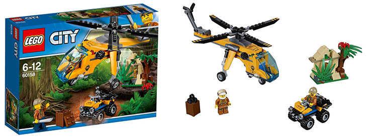 Lego 60158-Jungle-Cargo Helicopter-city-2