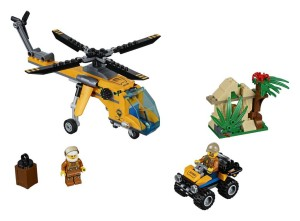 Lego 60158-Jungle-Cargo Helicopter-city
