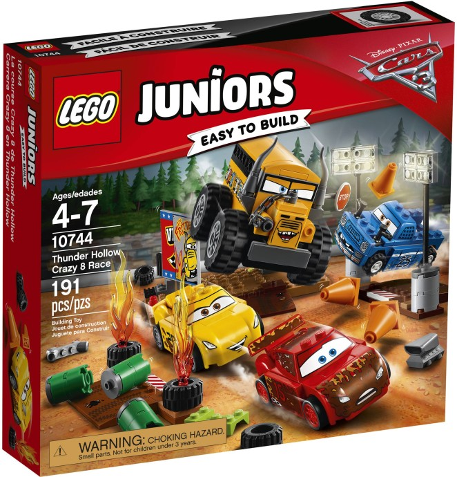 lego junior cars 3 official pictures i brick city. Black Bedroom Furniture Sets. Home Design Ideas