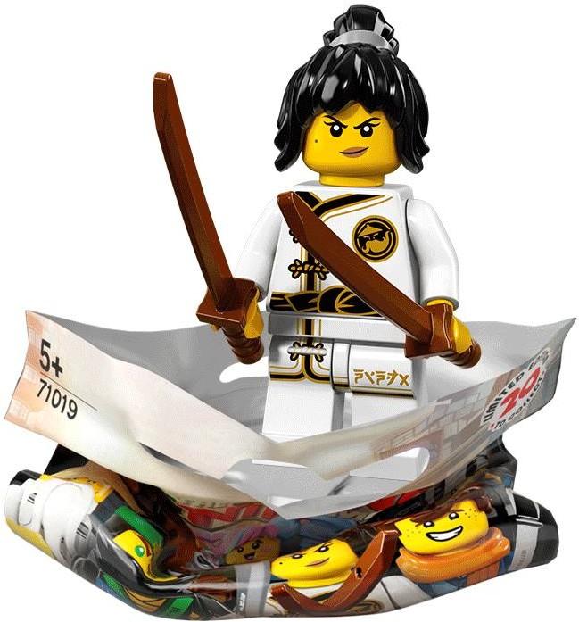 LEGO NEW NINJAGO MOVIE MINIFIGURE SERIES 71019 GPL TECH NINJA FIGURE