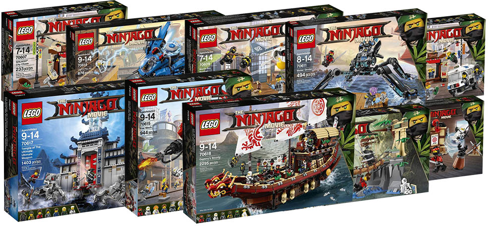 Lego Ninjago Movie Sets – The First Official Pictures | i Brick City