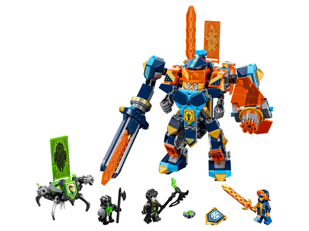 lego nexo knights 2018 the official pictures i brick city. Black Bedroom Furniture Sets. Home Design Ideas