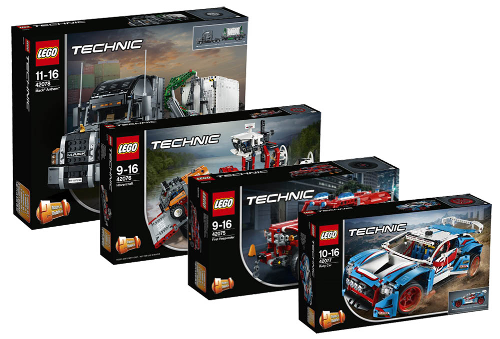 lego technic 2018 sets i brick city. Black Bedroom Furniture Sets. Home Design Ideas