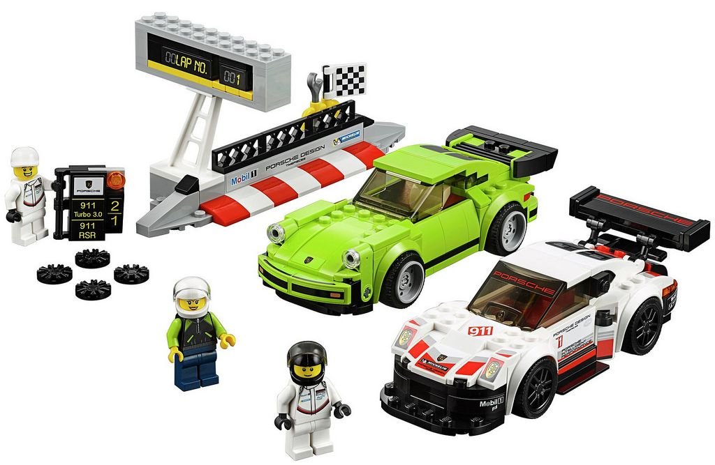 lego speed champions the 2018 sets i brick city. Black Bedroom Furniture Sets. Home Design Ideas