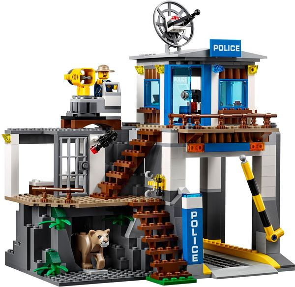 LEGO City Mountain Police Headquarters 2018 new 60174