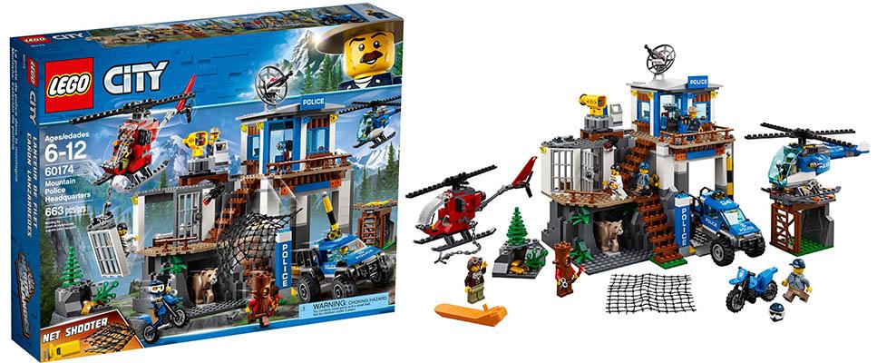 LEGO 60174 City Police Mountain Police Headquarters