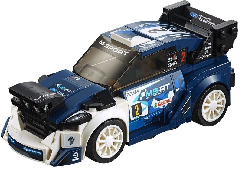Ford Raptor Inside >> Lego 75885 – Ford Fiesta M-Sport WRC | i Brick City