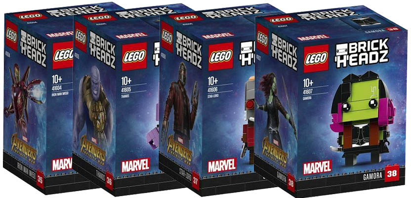 Lego BrickHeadz – The Official Pictures of the new Infinity War ...