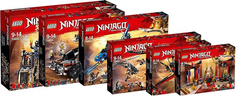 Ninjago Summer Sets I Brick City