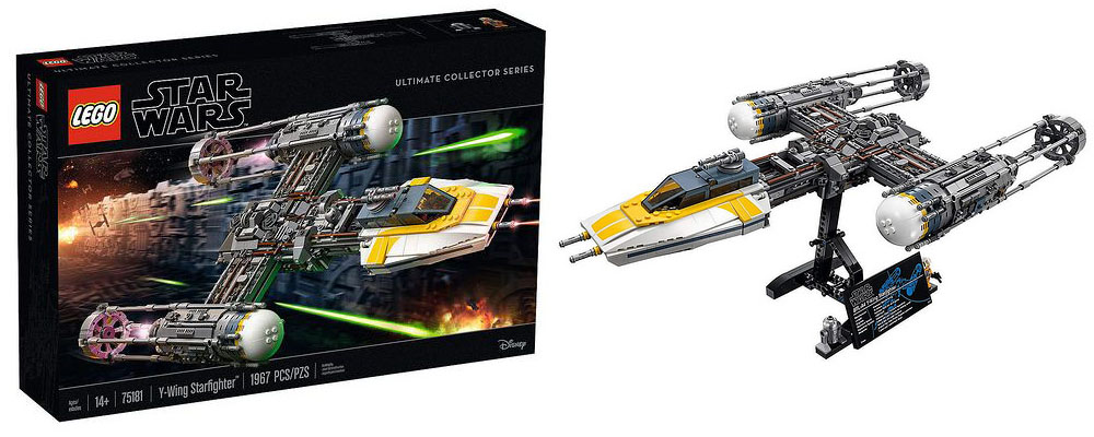Lego 75181 – Star Wars UCS Y-Wing Starfighter   i Brick City