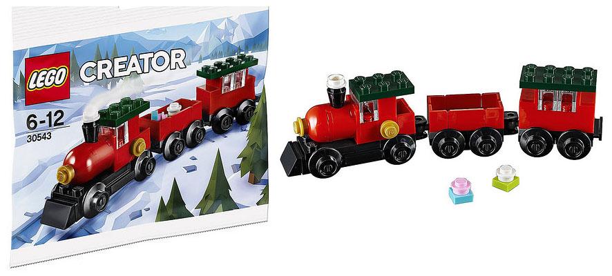 Lego Christmas Train.Lego 30543 Christmas Train Polybag I Brick City