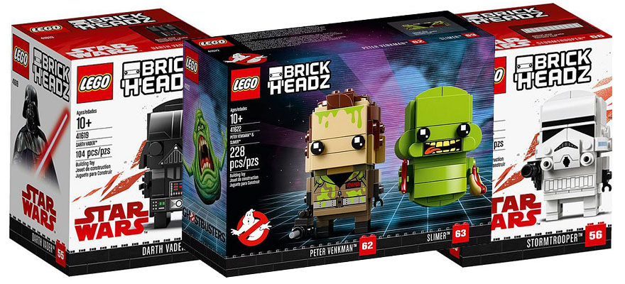 Lego Brickheadz Star Wars And Ghostbusters Official Pictures I