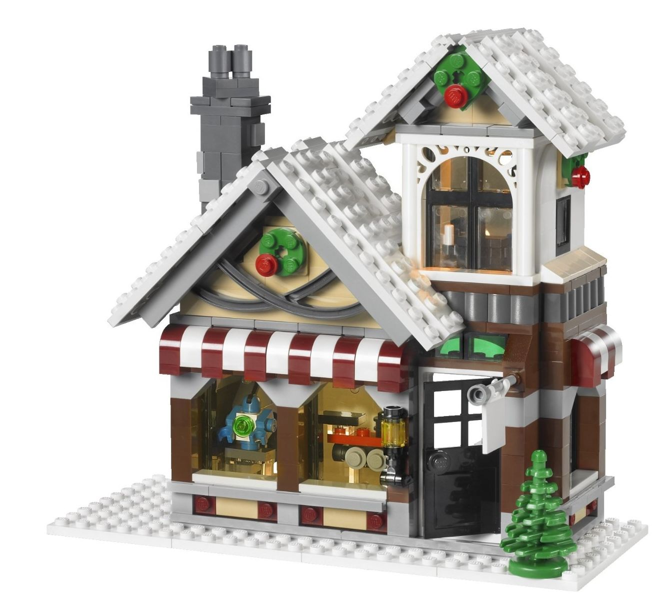 Toy Christmas Village