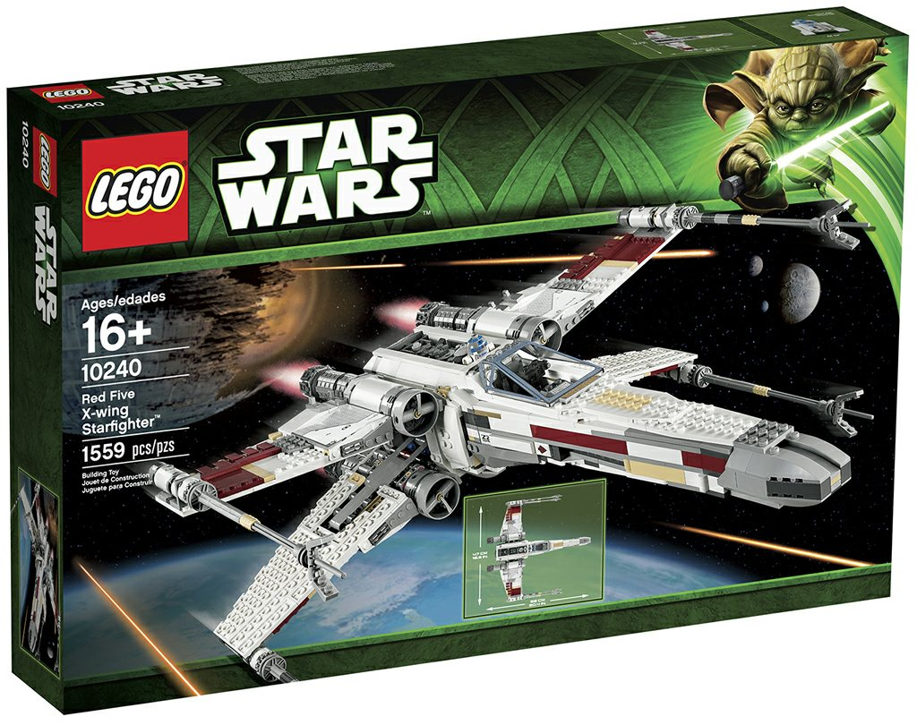 Lego 10240 red five x wing starfighter i brick city - Bd lego star wars ...