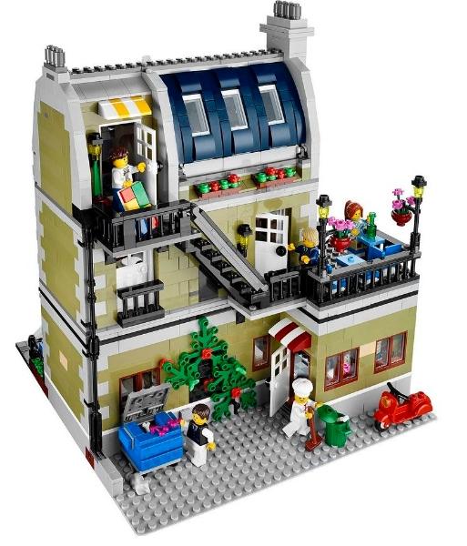 lego 10243 parisian restaurant i brick city. Black Bedroom Furniture Sets. Home Design Ideas