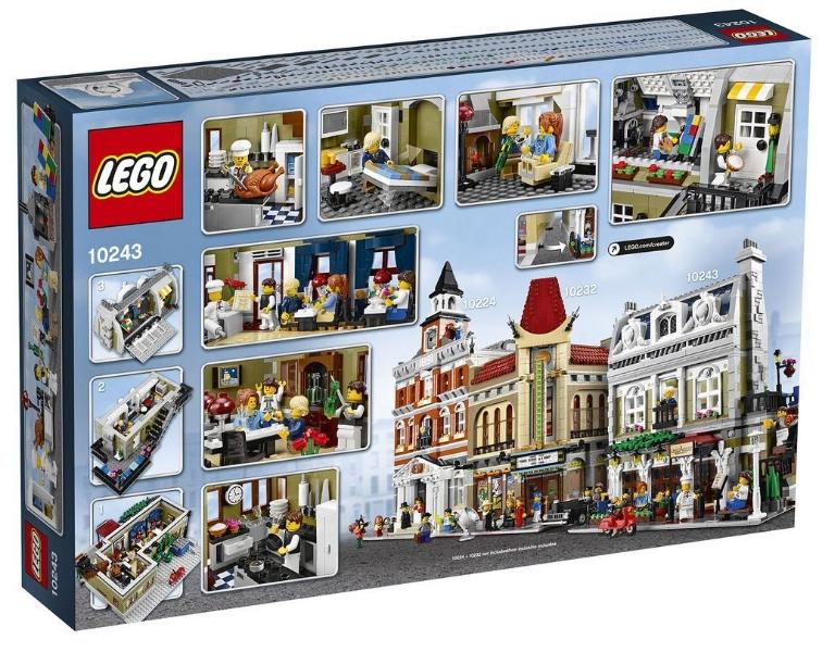 Lego 10243 Parisian Restaurant I Brick City