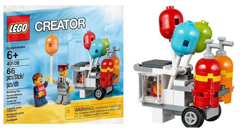 Lego 40108 Balloon Cart I Brick City  sc 1 st  Listitdallas & Lego Storage Cart - Listitdallas
