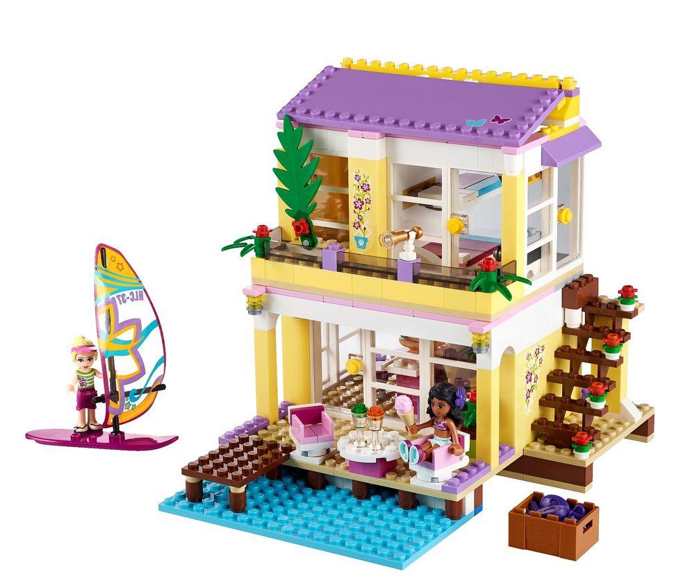 Lego Friends Beach House Inside